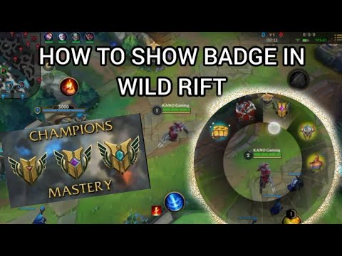 (Ver Filmes) How to show badge and emotes in wild rift