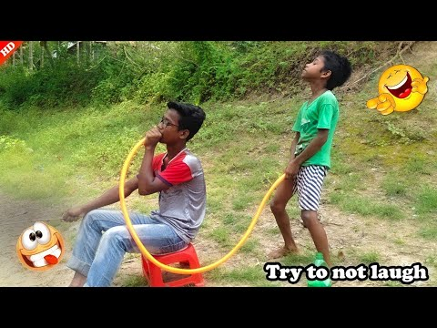 (New) Top new comedy video 2020_new funny video 2020_try to not laugh_episode-62_by hahaidea