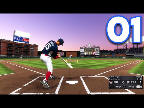 (New) Mlb 21 road to the show - part 1 - the beginning