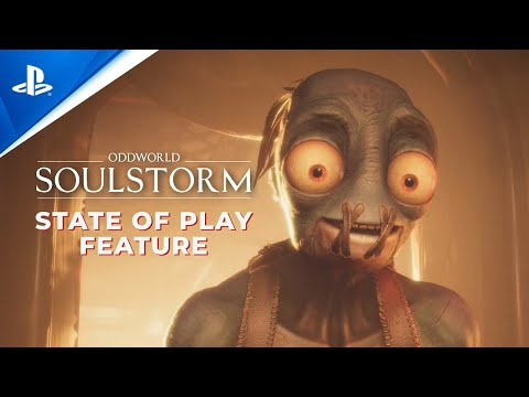 (New) Oddworld: soulstorm at state of play | ps5, ps4