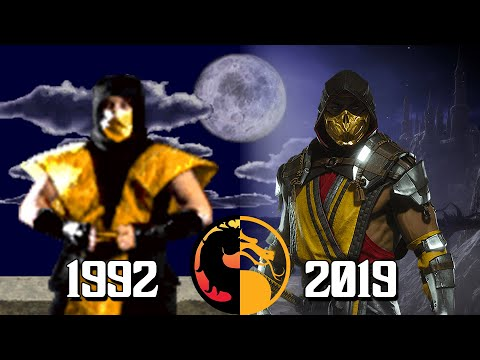 (New) The evolution of scorpion arcade playthroughs throughout the generations! (1992-2020)