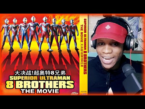(New) Superior ultraman 8 brothers the movie reaction review jamaican reacts