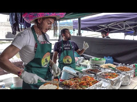 (New) Mexican tacos and burritos. tex - mex street food, london