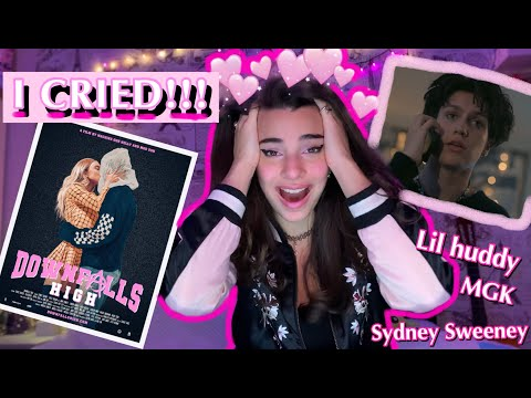 (New) Downfalls high reaction!!! i cried (lil huddy movie reaction)