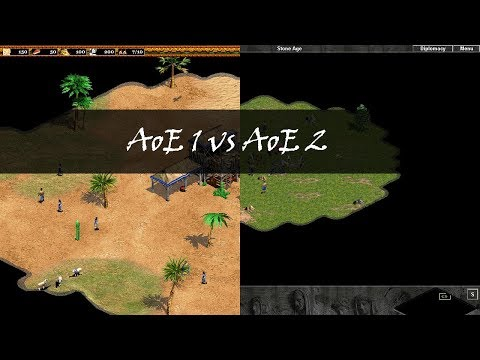 (New) Important differences between aoe i e aoe ii