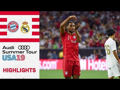 (New) Gnabry secures royal victory over madrid | fc bayern vs real madrid 3-1 | highlights - icc 2019