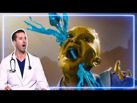 (New) Er doctor reacts to fatal blows in mortal kombat 11 | experts react