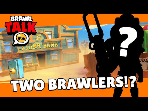 (New) Brawl stars: brawl talk! two new brawlers, tons of skins, and a new game mode!?