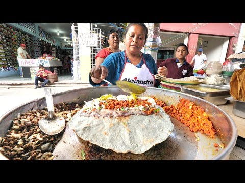 (New) Extreme mexican street food in oaxaca | insane mexican street food tour in oaxaca, mexico