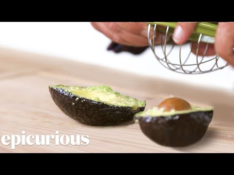 (HD) 5 avocado kitchen gadgets improved by design expert | well equipped | epicurious