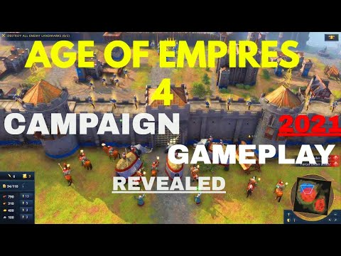(New) Age of empires 4 | campaign and gameplay details revealed
