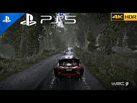 (New) (ps5) wrc 9 looks impressive in next gen - ultra high graphics | full rally gameplay(4k hdr 60fps)