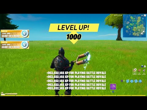 (New) Fortnite *unlimited xp* glitch in season 4 *working* (level up fast)