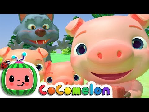 (Ver Filmes) Three little pigs | cocomelon nursery rhymes e kids songs