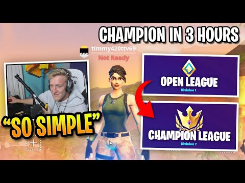(Ver Filmes) How tfue reached champion division in 3 hours...