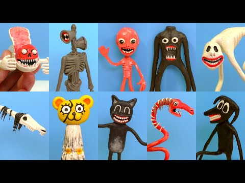 (New) All monsters trevor henderson with clay