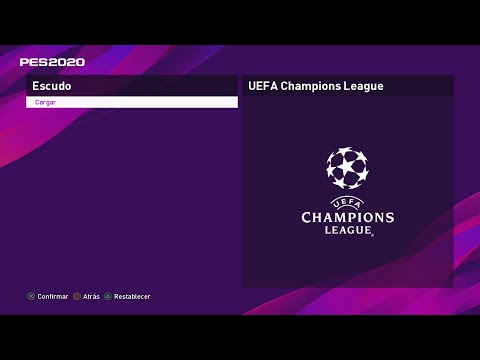 (New) Como crear la uefa champions league en pes 2020