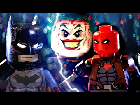 (New) Lego batman vs red hood ( under the red hood e death in the family stop motion brickfilm)