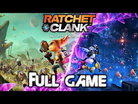 (New) Ratchet and clank rift apart ps5 gameplay walkthrough full game (4k 60fps) no commentary