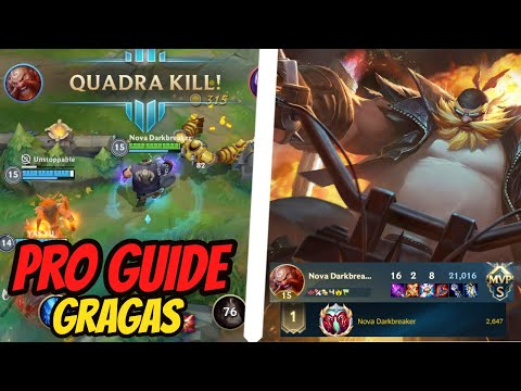 (VFHD Online) Gragas wild rift pro guide - how to play gragas in solo rank | league of legends wild rift