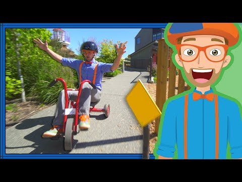 (Ver Filmes) Blippi playing at a childrens museum   colors for toddlers