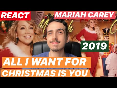 (VFHD Online) [react] all i want for christmas is you (make my wish come true edition) 2019 | mariah carey