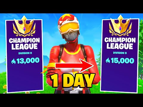(VFHD Online) 2000 arena points in a day! (fortnite arena gameplay) (season 6) 13k-15k points!