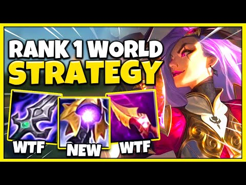 (New) The #1 katarina world on-hit 1v5 strategy (solo carry every game) season 11 mid - league of legends