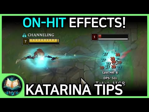 (New) Katarina tips   tricks   guides - how to carry with katarina