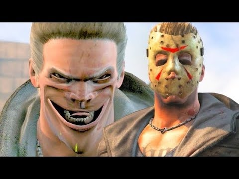 (New) Mortal kombat x johnny cage performs all character victory celebrations