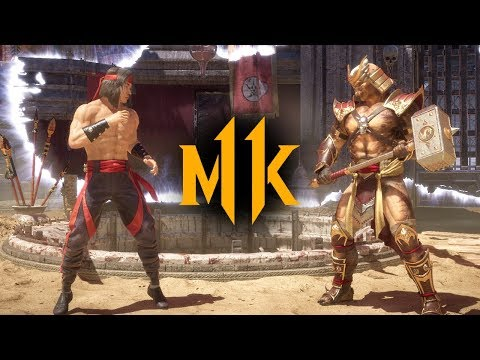(New) Mortal kombat 11 - liu kang vs. shao kahn