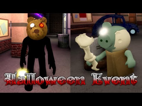 (New) How to unlock mr stitchy e tombstone trap | roblox piggy halloween event