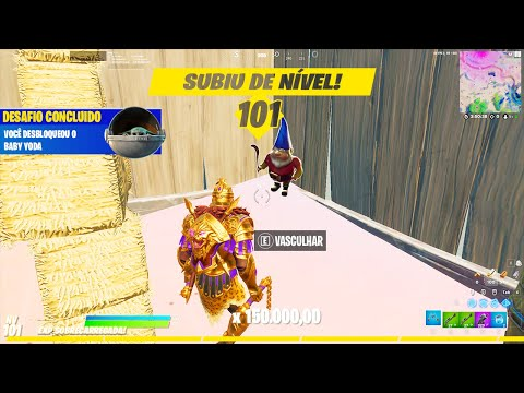 (New) Como upar xp rapido para nivel 100 do passe de batalha da temporada 5 no fortnite