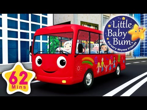 (Ver Filmes) Wheels on the bus   part 13   plus more nursery rhymes   62 minutes compilation from lbb!
