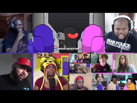 (New) Among us song | #nerdout ft loserfruit, jt music, theorionsound e more [reaction mash-up]#956