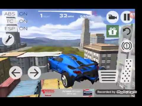 (New) Extreme car driving simulator all bugatti car parts