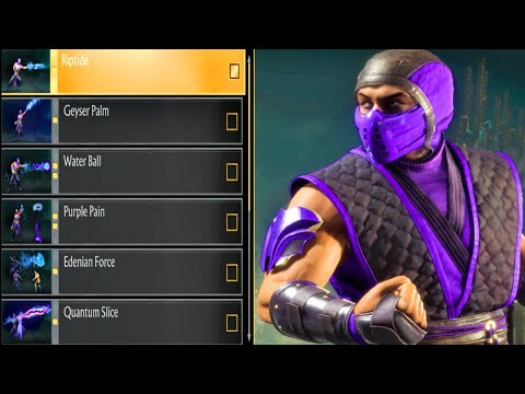 (New) Mk11 - rain abilities showcase and biggest combos