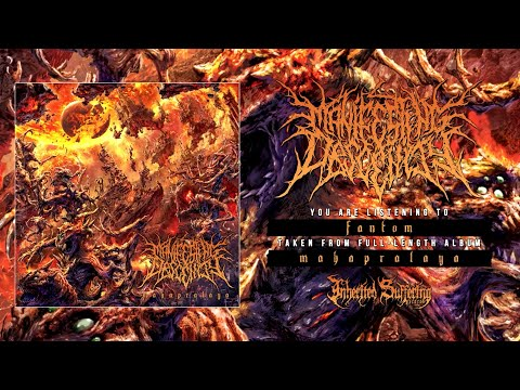 (New) Manifesting obscenity - mahapralaya [official album stream] (2021) sw exclusive