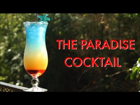 (New) How to make a paradise tropical layered cocktail | drinks made easy