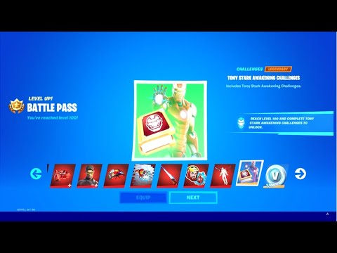 (New) How to get max tiers (tier 100 today) in fortnite season 4 chapter 2 for free! max battle pass