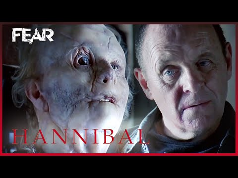 (HD) Mason verger and hannibal come face to face | hannibal (2001)