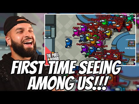 (New) Among us but with 99 impostors reaction