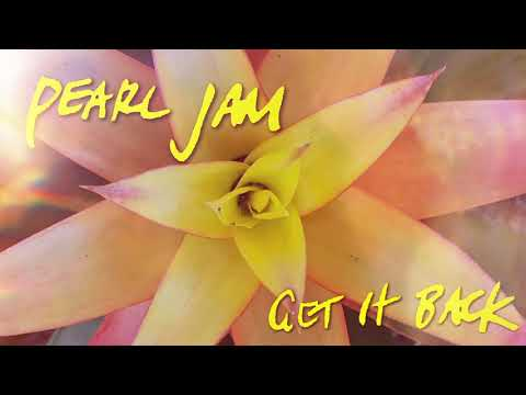 (New) Pearl jam - get it back