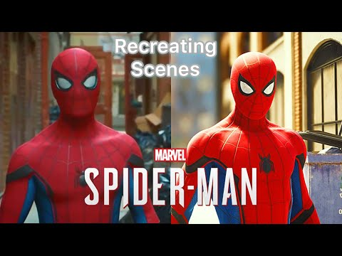 (Ver Filmes) Recreating scenes from spider-man movies in marvels spider-man (ps4) | spider-man ps4 gameplay