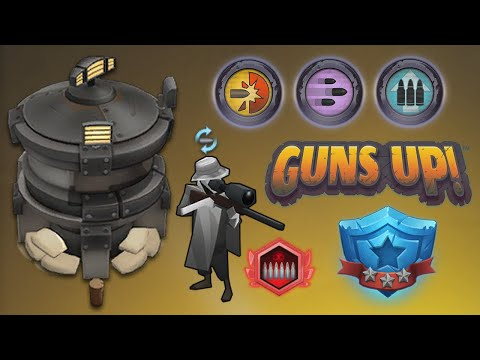 (New) Guns up! - wave 1300, only sniper units towers!