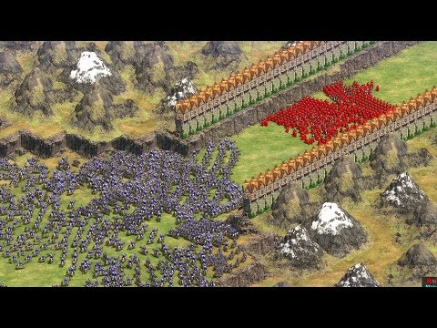 (New) The mountain pass - age of empires 2 definitive edition