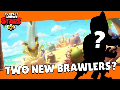 (New) Brawl stars: brawl talk! two new brawlers, achievements, new trophy road, and more! - concept edit!