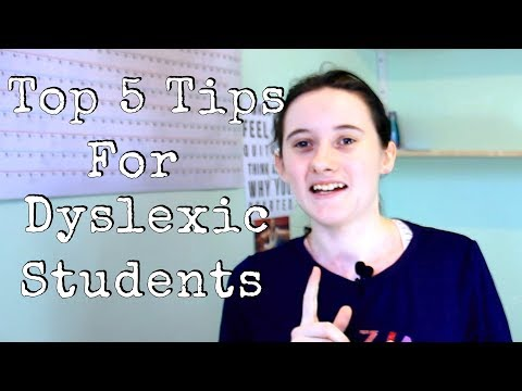 (HD) Top 5 tips for dyslexic and dyspraxic students!