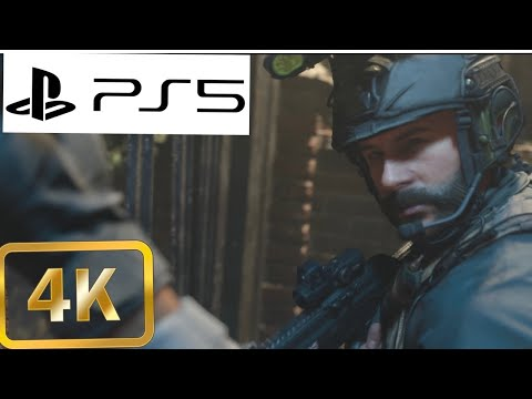 (New) Call of duty: modern warfare [ playstation 5 4k hdr 60fps] clean house realism gameplay