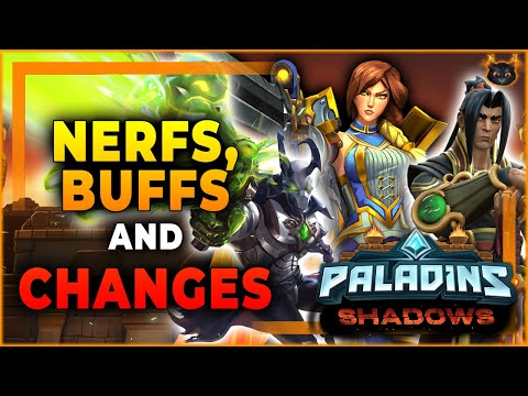 (New) New nerfs, buffs and changes breakdown on the shadows update